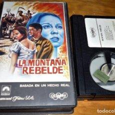 Cine: LA MONTAÑA REBELDE . BASADA EN UN HECHO REAL - RAMON TORRADO - BETA. Lote 244452365