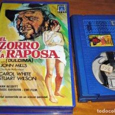 Cine: EL ZORRO Y LA RAPOSA - JOHN MILLS, CAROL WHITE, STUART WILSON, FRANK NESBITT - IVEX - BETA. Lote 244452450