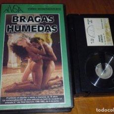 Cine: BRAGAS HUMEDAS - DIEGO FIGUEROA, PACO CATALA, VERONICA ARECNAVALETA - EROTICA - BETA. Lote 244657215