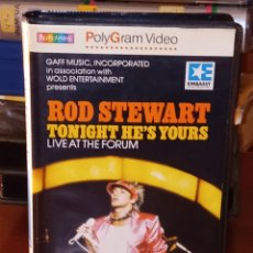 Cine: ROD STEWART TONIGHT HE'S YOURS LIVE AT THE FORUM BETA NUNCA ANTES EN TC. Lote 244678605