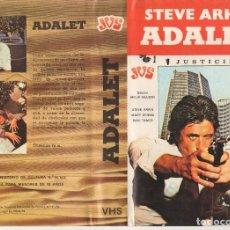 Cine: BETA - ADALET / JUSTICIERO - STEVE ARKIN - NACIONALIDAD TURKA. Lote 244811420