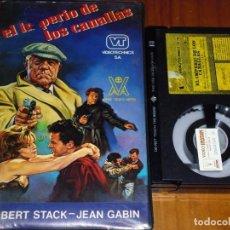 Cine: EL IMPERIO DE LOS CANALLAS - ROBERT STACK, JEAN GABIN - BETA. Lote 244812565