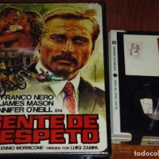 Cine: GENTE DE RESPETO - FRANCO NERO, JENNIFER O´NEILL, LUIGI ZAMPA - POLIZIESCO - BETA. Lote 244812775