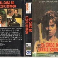 Cine: BETA - EL CASO DE LIZZIE BORDEN - PAUL WENDKOS - - A VECES LO REAL SUPERA LA FICCION - VERIDICO. Lote 244814190