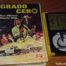 Cine: GRADO CERO - RON CASTEEL , MELVIN BELLI - BETA. Lote 244814815