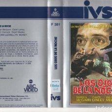 Cine: BETA - LOS OJOS DE LA NOCHE - JOHN LLEWELLYN MOXEY - SLASHER. Lote 244816110