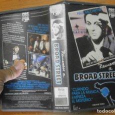 Cine: RECUERDOS A BROAD STREET (UNICA EN TC, BETA). Lote 245164320