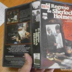 Cine: EL REGRESO DE SHERLOCK HOLMES (PELICULA BETA). Lote 245166140
