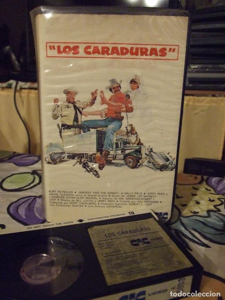 LOS CARADURAS - HAL NEEDHAM - BURT REYNOLDS, SALLY FIELD - CIC 1983 (Cine - Películas - BETA)