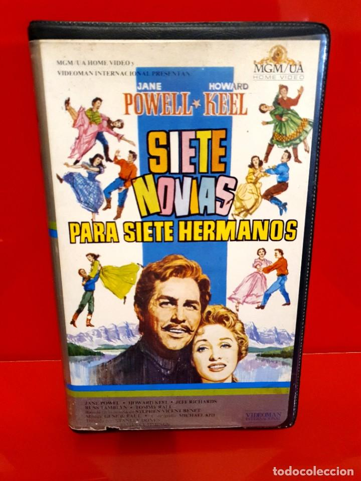 SIETE NOVIAS PARA SIETE HERMANOS (1954) - HOWARD KEEL, JANE POWELL, JEFF RICHARDS (Cine - Películas - BETA)