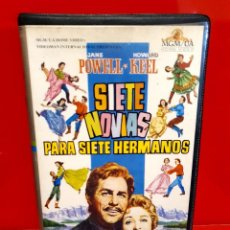 Cine: SIETE NOVIAS PARA SIETE HERMANOS (1954) - HOWARD KEEL, JANE POWELL, JEFF RICHARDS. Lote 245626530