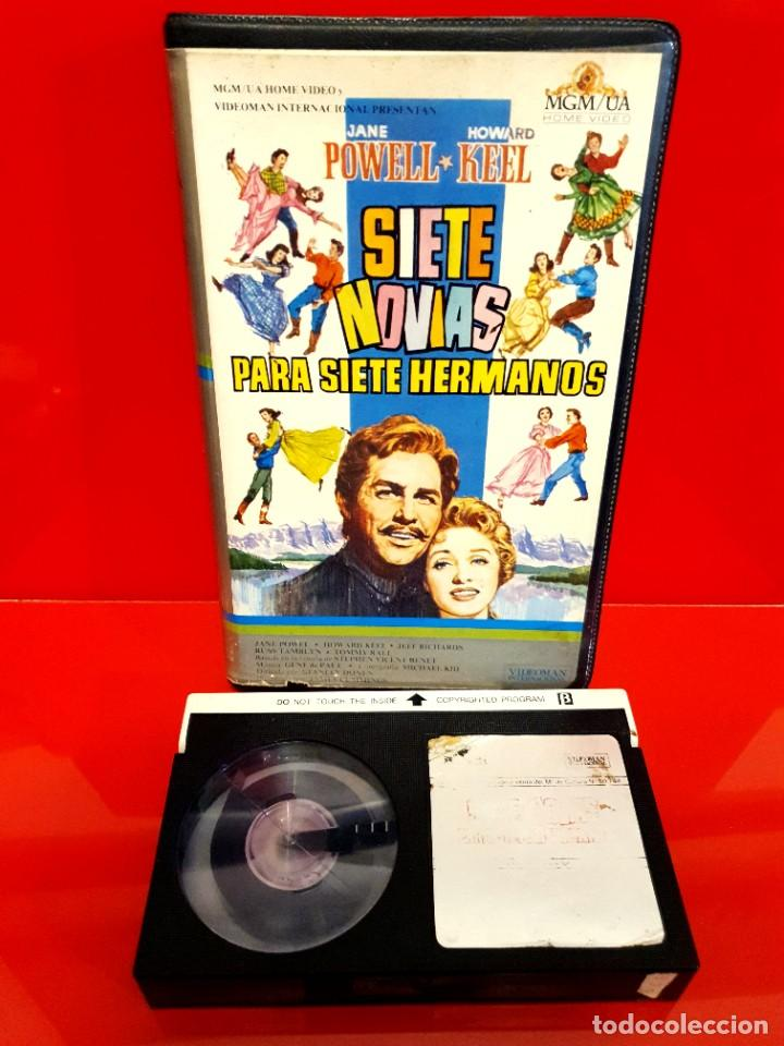 Cine: SIETE NOVIAS PARA SIETE HERMANOS (1954) - Howard Keel, Jane Powell, Jeff Richards - Foto 3 - 245626530