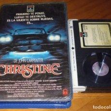 Cine: CHRISTINE - JOHN CARPENTER - TERROR - RCA CAJA GRANDE VIDEOCLUB - BETA. Lote 246227590