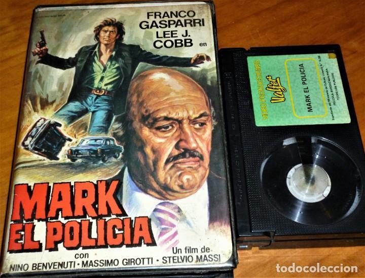 MARK EL POLICIA - FRANCO GASPARRI, LEE J. COBB, MASSIMO GIROTTI, STELVIO MASSI - POLIZIESCO - BETA (Cine - Películas - BETA)