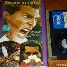 Cine: PASAJE AL CIELO - NICK MANCUSO, SAUL RUBINEK, MEG FOSTER - BETA. Lote 249050170