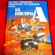 Cine: EL EQUIPO A (1985) - THE A- TEAM - GEORGE PEPPARD, MR. T, DWIGHT SCHULTZ, DIRK BENEDICT - 1ª EDIC. Lote 251431960