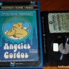 Cine: ANGELES GORDOS - MANUEL SUMMERS, CHUMY CHUMEZ - WARNER VIDEOCLUB - BETA. Lote 251545680
