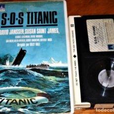 Cine: S.O.S TITANIC - DAVID JANSEN, SUSAN SAINT JAMES, DAVID WARNER, BILLY HALE - BETA. Lote 252597620