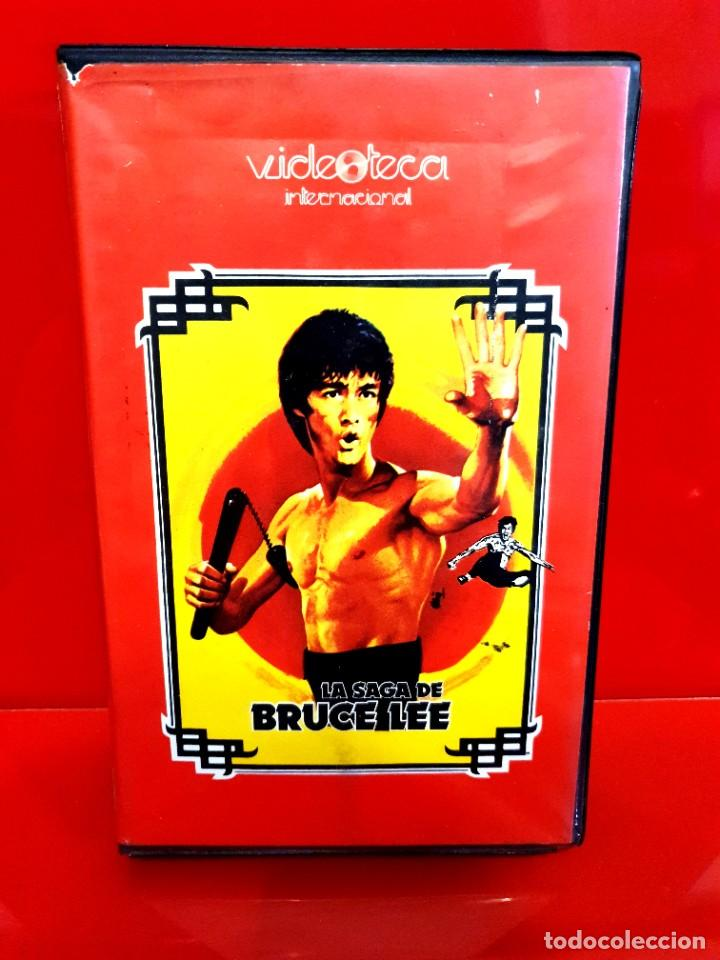 LA SAGA DE BRUCE LEE (1978) - JOSEPH KONG, DRAGON LEE - VIDEOTECA INTERNACIONAL (Cine - Películas - BETA)