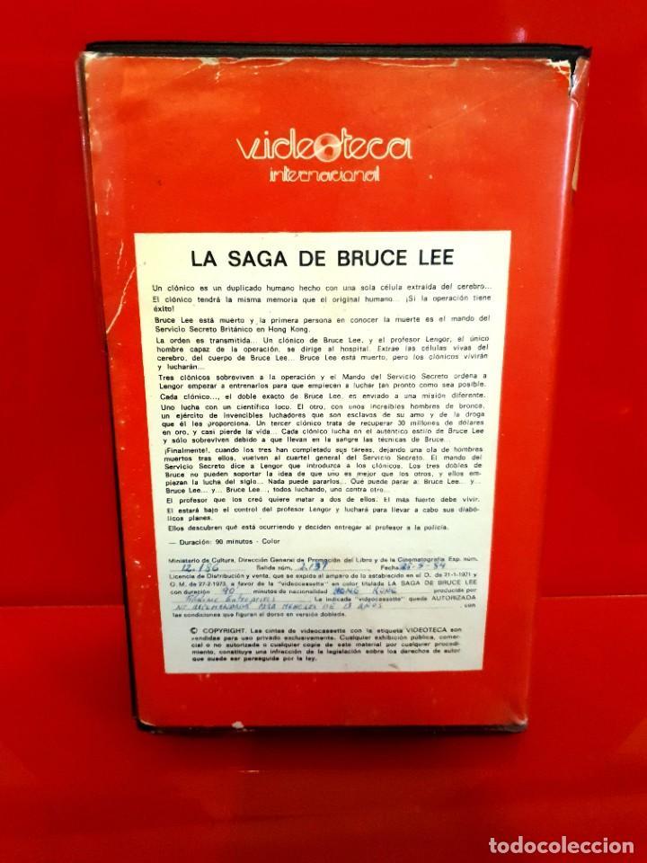 Cine: LA SAGA DE BRUCE LEE (1978) - JOSEPH KONG, DRAGON LEE - Videoteca Internacional - Foto 2 - 254054935