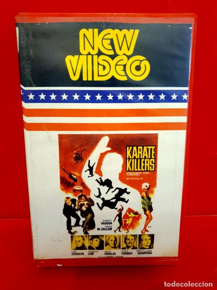 KARATE KILLERS (1967) - THE KARATE KILLERS - ROBERT VAUGHN, DAVID MCCALLUM, JOAN CRAWFORD (Cine - Películas - BETA)