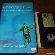 Cine: VIDEODROME - DAVID CRONENBERG, JAMES WOODS - TERROR - 1ª EDICION VIDEOCLUB - BETA. Lote 255319075