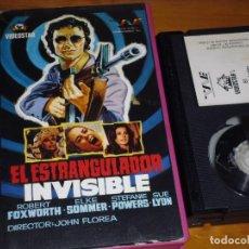 Cine: EL ESTRANGULADOR INVISIBLE - ROBERT FOXWORT, ELKE SOMMER, STEFANIE POWERS - TERROR - BETA. Lote 255319140