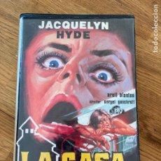 Cine: LA CASA DEL TERROR - JACQUELYN HYDE - SERGEL GONCHROFF - BETA. Lote 257436715