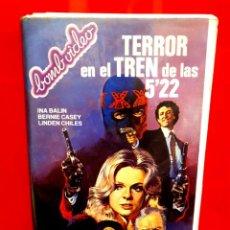 Cine: TERROR EL TREN DE LAS 5´22 - RAREZA. Lote 257552710