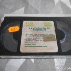 Cine: BETA - SOLO CINTA SIN CARATULA - LA VENGANZA DE FU MANCHU . 38. Lote 262094020