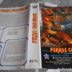 Cine: BETA - SOLO CARATULA SIN CINTA - PERROS CALLEJEROS III. Lote 262095755