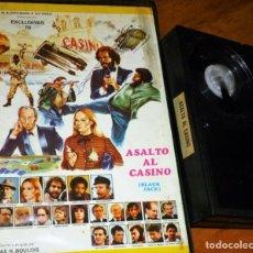 Cine: ASALTO AL CASINO - PETER CUSHING, CLAUDINE AUGER, VICTORIA VERA, HUGO STIGLIZT - EXCLUSIVAS 79 -BETA. Lote 262170505