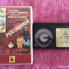 Cine: BETA PSICOMANIA (1973) ED. REX VIDEO. Lote 263951450