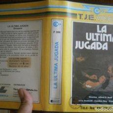 Cinema: LA ULTIMA JUGADA ,BETA (NO SE ADMITEN DEVOLUCIONES). Lote 264318260
