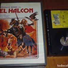 Cine: EL HALCON - FRANCO NERO, DRAGAN NIKOLIC - EDICION ARCAICA VIDEOCLUB - BETA. Lote 264499984