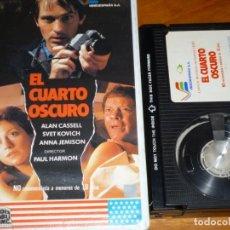 Cine: EL CUARTO OSCURO - ALAN CASSELL, SVET KOVICH, ANNA JEMISON, PAUL HARMON - BETA. Lote 265710174