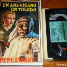 Cine: UN AMERICANO EN TOLEDO - PEPE ISBERT, SILVIA MORGAN - BETA. Lote 265710999