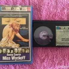 Cine: BETA BUENA SUERTE, MISS WYCKOFF [1979] BETA ED. MPV MOTION PICTURES VIDEO. Lote 265901943