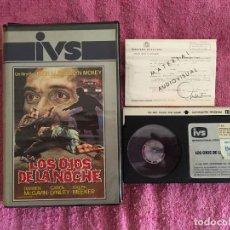Cine: BETA LOS OJOS DE LA NOCHE AKA EL VAMPIRO DE LA NOCHE (2) - DAN CURTIS Y JOHN MOXEY [1972] ED. IVS. Lote 265972608