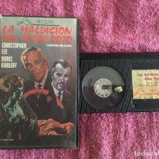 Cine: BETA LA MALDICIÓN DEL ALTAR ROJO - BORIS KARLOFF [1968] ED. ARLEQUIN. Lote 266254833