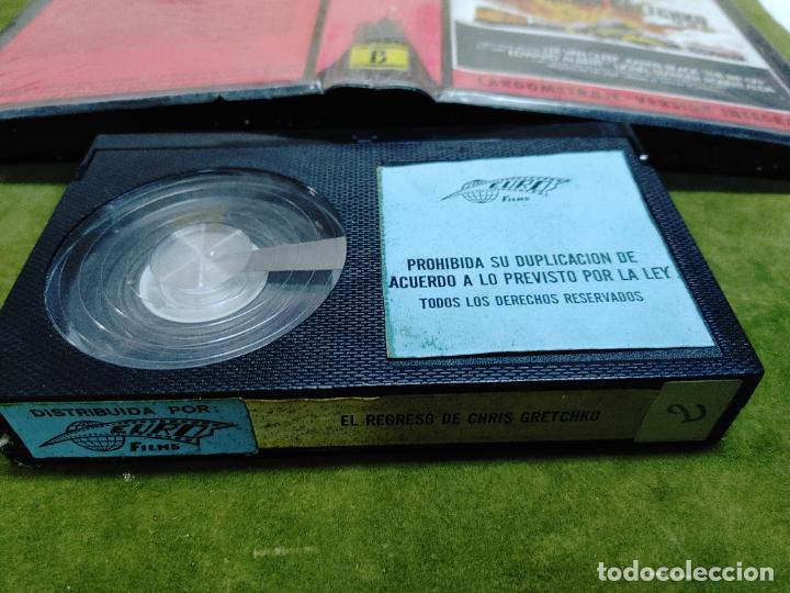Cine: EL REGRESO DE CHRIS GRETCHKO BETA LEE VAN CLEEF KAREN BLACK LARGOMETRAJE VERSION INTEGRA - Foto 2 - 268574974