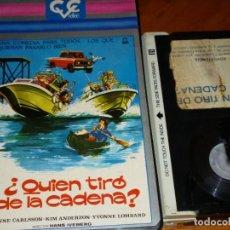 Cine: ¿QUIEN TIRO DE LA CADENA? - JANNE CARLSSON, KIM ANDERZON, YVONNE LOMBARD - BETA. Lote 268580884