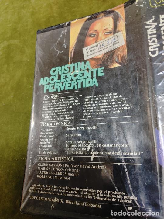Cine: PELICULA CRISTINA ADOLESCENTE PERVERTIDA-BETAMAX BETA - Foto 5 - 268586819