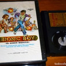 Cine: BIONIC BOY. EL CHICO BIONICO - JOHNSON YAP, RON ROGERS, SUSAN BAECHER - EXCLUSIVAS 79 - BETA. Lote 268761444