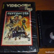 Cine: DESTRUCTOR / BATTLETRUCK - LLOYD PHILLIPS - TERROR - POST APOCALIPTICA - VIDEOCIEN - BETA. Lote 268765129