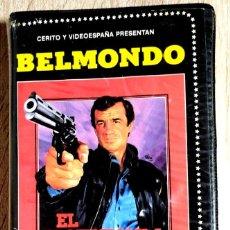 Cine: BETA - EL PROFESIONAL - JEAN-PAUL BELMONDO, ROBERT HOSSEIN - THRILLER, ACCIÓN - 1º EDICION. Lote 268765989
