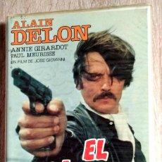 Cine: BETA - EL GITANO - ALAIN DELON, PAUL MEURISSE, ANNIE GIRARDOT, JOSE GIOVANNI - CRIMEN - 1º EDICION. Lote 268773634