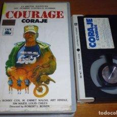 Cine: COURAGE / CORAJE - ART HINDLE - BETA. Lote 268784754