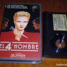 Cine: EL CUARTO 4º HOMBRE - PAUL VERHOEVEN , JEROEN KRABBE , RENEE SOUTENDIJK - THRILLER - BETA. Lote 268784789