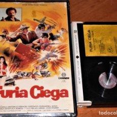 Cine: FURIA CIEGA - EFREN C. PIÑON, TONY FERRER, LEILA HERMOSA, LEO FONG, FRED WILLIAMSON - BETA. Lote 268784839